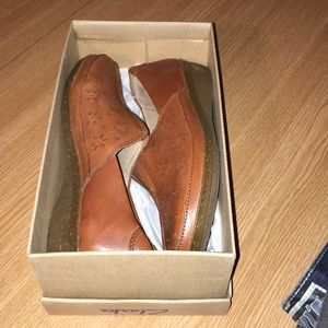 NWT Clark's Leather Shoes